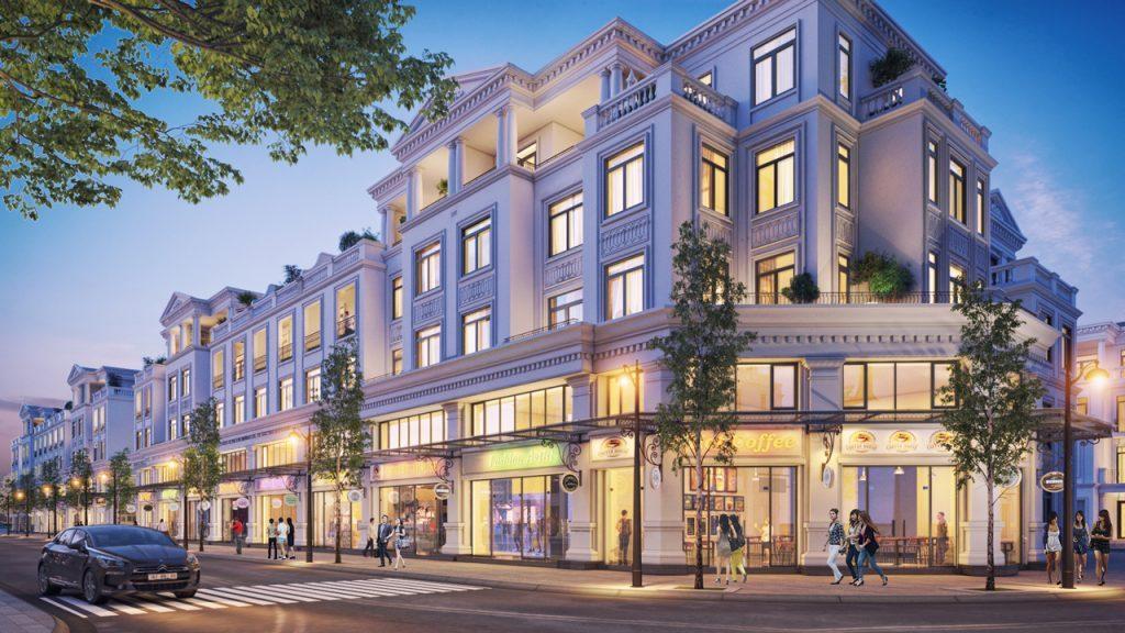 Shophouse dự án Vinhomes Văn Giang